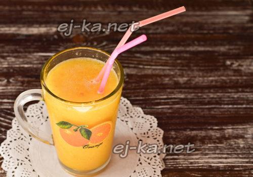 сок из кожуры апельсина