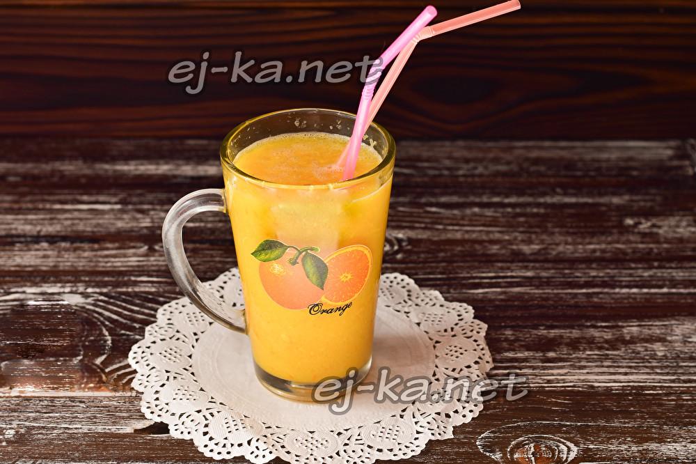 смузи из кожуры апельсина