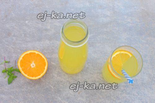 разлить лимонад по графинам