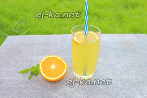 турецкий лимонад готов