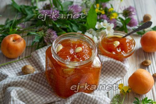 абрикосовое варенье с ядрышкыми