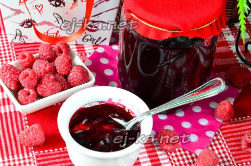 сладкая заготовка из малины