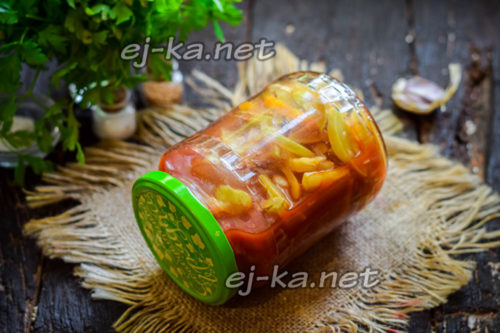 лечо из овощей