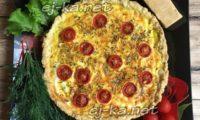 выпечка с помидорами и сыром