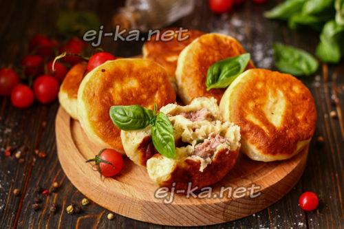 вкусные пирожки с мясом