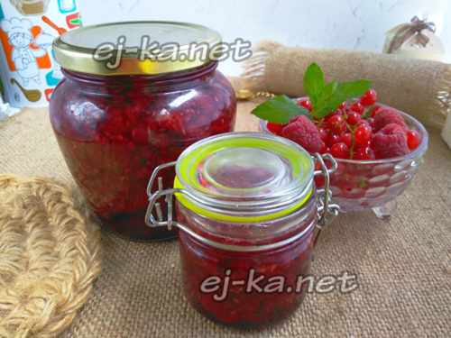 ягодное варенье