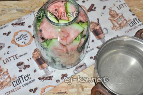маринуем арбуз