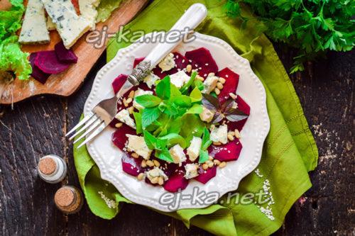 легкий свекольный салат