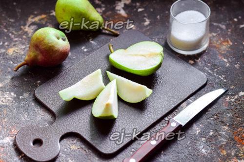 подготовка груш