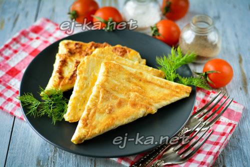 лаваш с сыром на завтрак