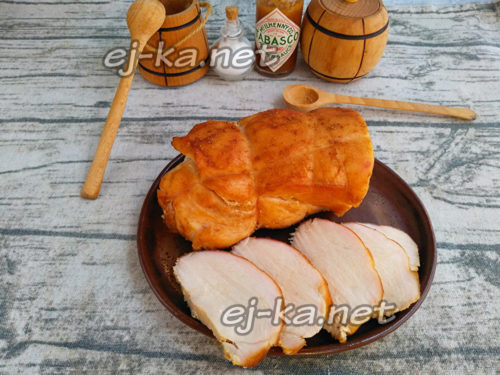 вкусная куриная пастрома