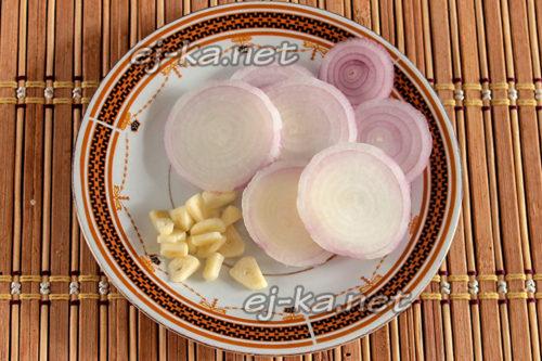 лук и чеснок для заготовки