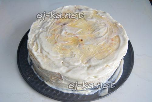 сложить торт