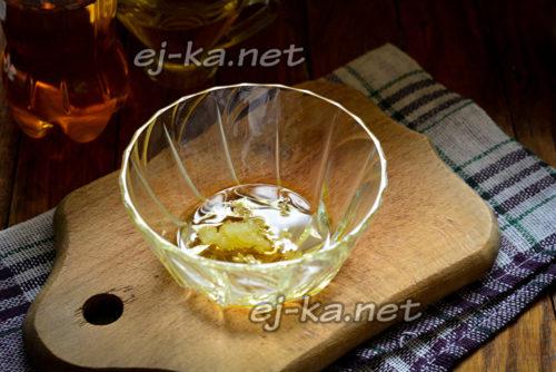 чеснок с маслом