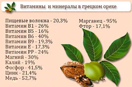 polza orehov