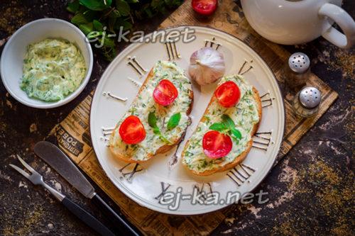 рецепт вкусных бутербродов