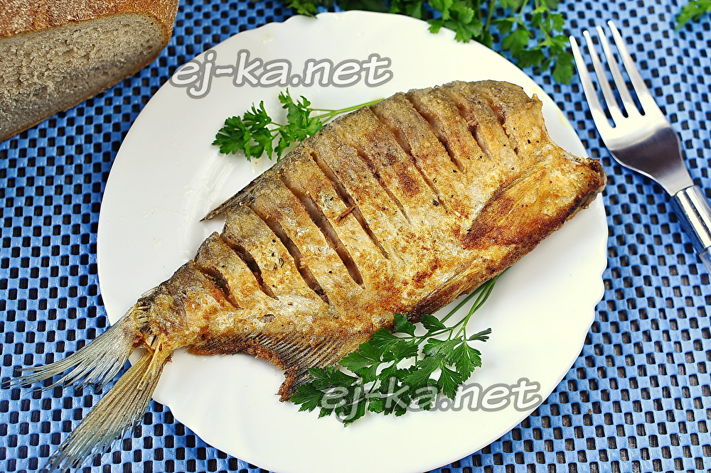 жаренная рыбка