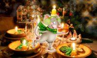 Как накрыть праздничный стол на Новый год 2020 год Крысы