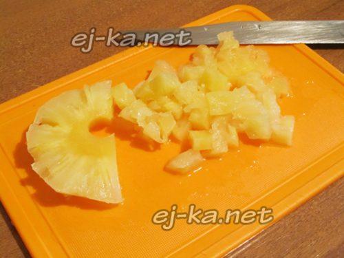ананасы кусочками