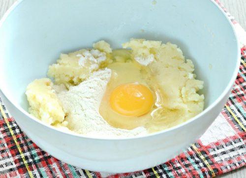 картофель яйцо