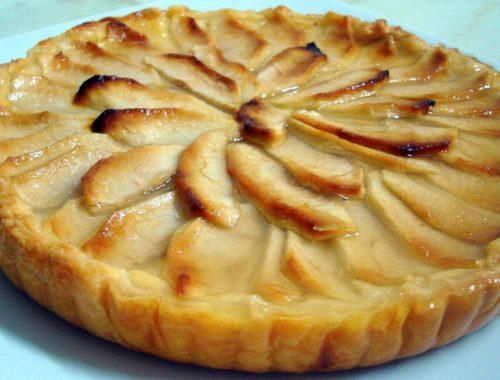 пирог яблоки