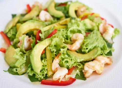 авокадо морепродукты