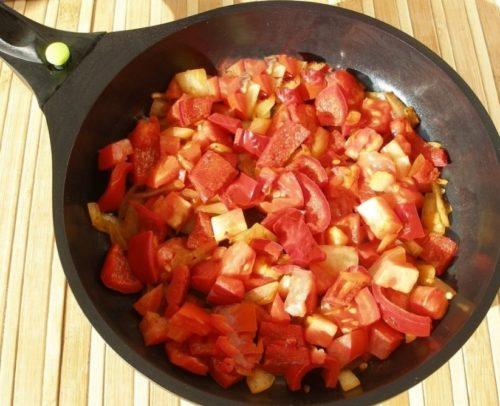 томаты жарятся
