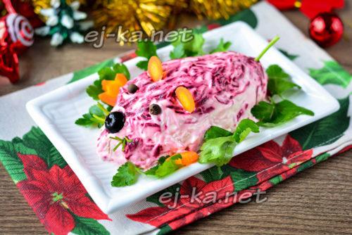 красивый салатик