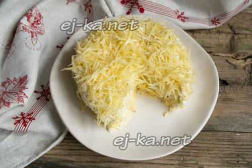 потрусить сыром