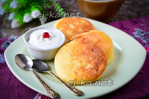 завтрак из творога