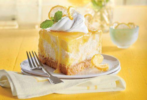 десерт с творожным сыром