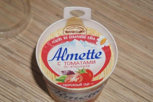 что такое сыр альметте