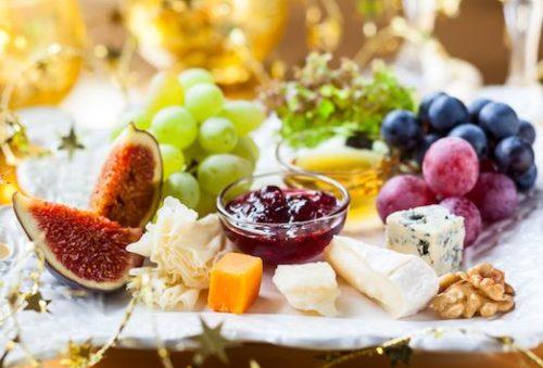 декор сырной тарелки