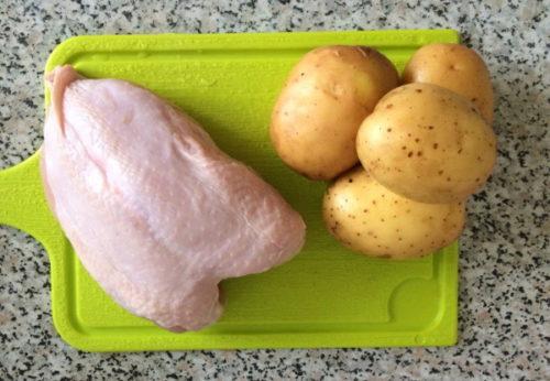 kurica i kartofel