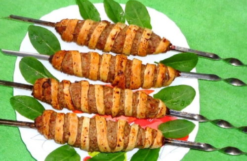 kebab v teste
