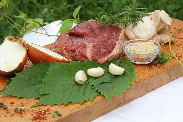 ингредиенты долмы из баранины