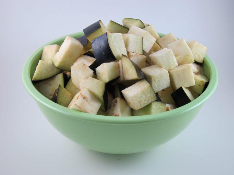 Порезанный овощ