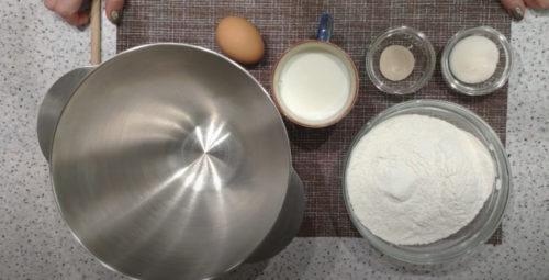 ингредиенты для пончиков