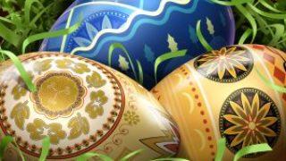 Миниатюра к статье Покраска яиц на Пасху