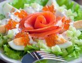 Миниатюра к статье 5 вкусных салатов на Новый год