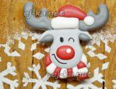 Миниатюра к статье Новогоднее печенье с глазурью