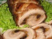 Миниатюра к статье Рецепт рулета из свиной грудинки в мультиварке