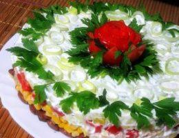 Миниатюра к статье Салат с фасолью, тунцом и кукурузой