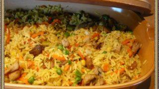блюда из риса простые и вкусные