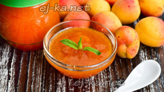 Джем из абрикосов и апельсинов