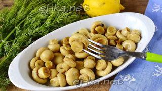 Маринованные шампиньоны с лимоном