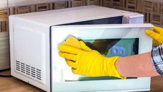 Как почистить микроволновку