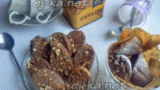 Колбаса из печенья