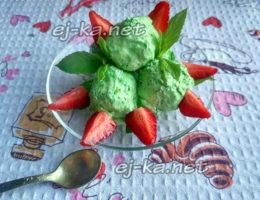 Мороженое из творога и мяты, рецепт с фото простой и вкусный