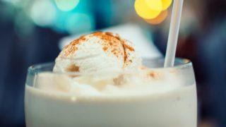 Рецепты молочного коктейля с мороженым